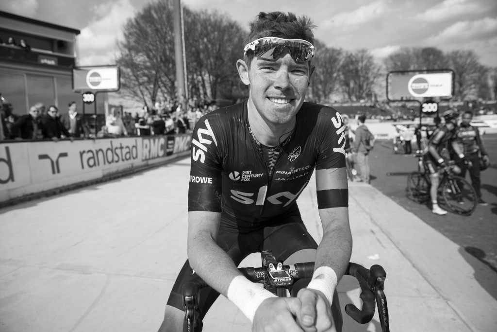 Luke Rowe Paris Roubaix 2015 Finish